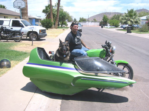 Aqualean Motorcycle Flexible Sidecar