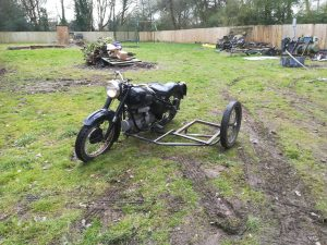 Motorcycle Leaner Sidecar Project