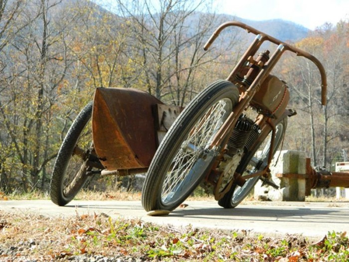 Parallel Motorcycle Sidecar
