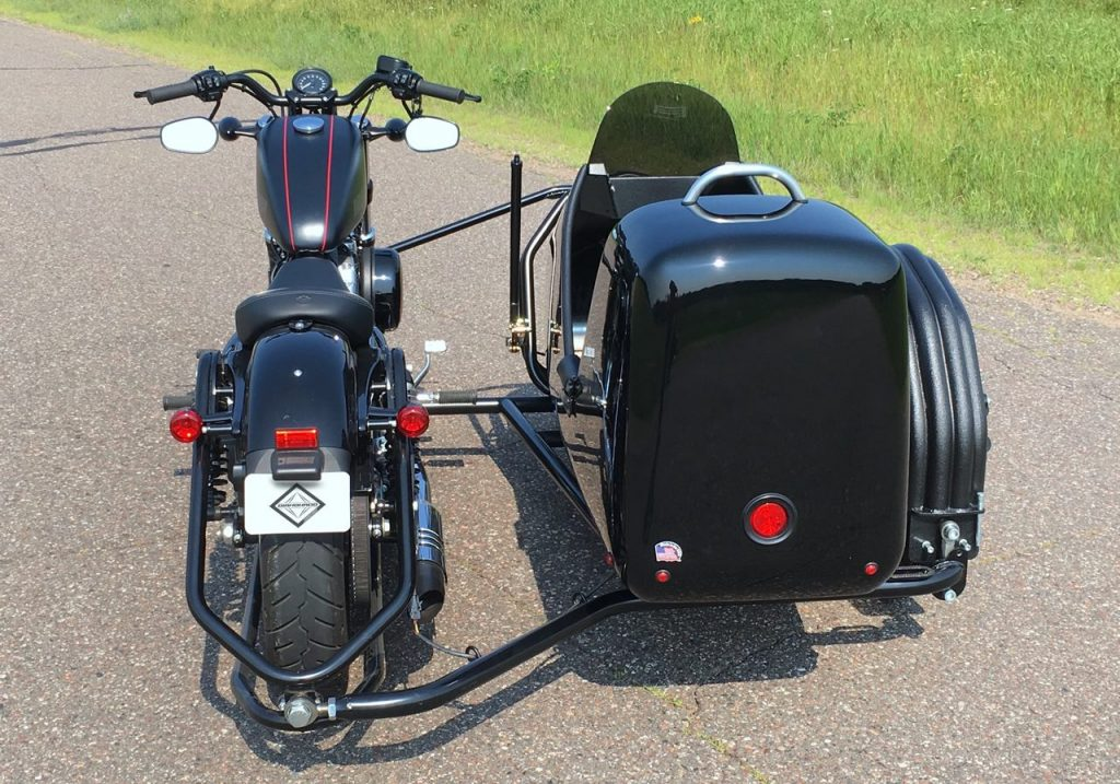 Diamonado Sidecar Motorcycle Flexible Leaner Combination
