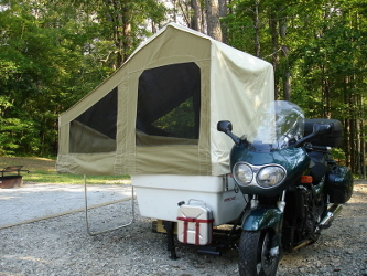 Motorcycle Camper Trailers Amp Sidecars Explore The World