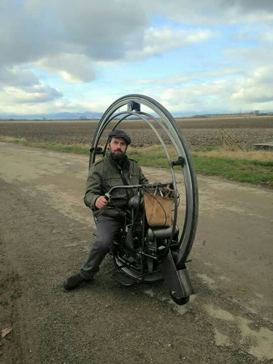 Kerry McLean Monowheel Single Wheel Motorcycle