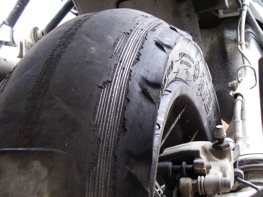 Tire Patch Cost >> The Dark Side - The Love of Car Tires on Motorcycles ...