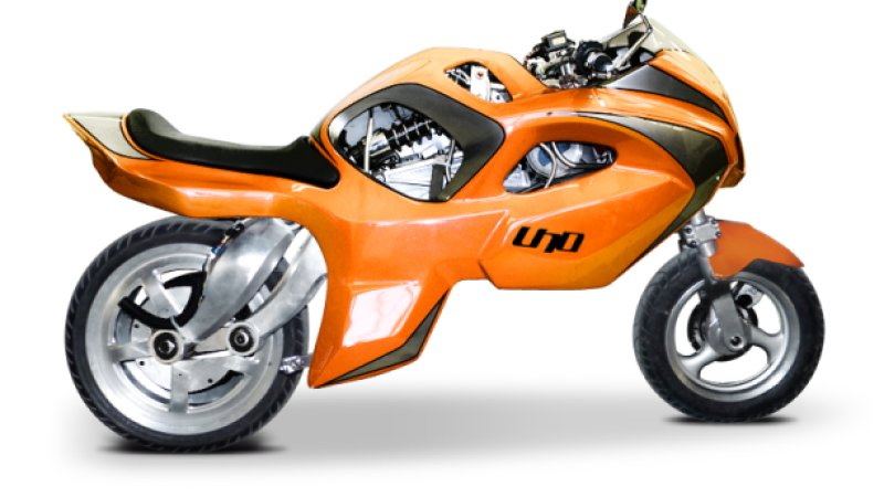 Uno Transformer Single Wheel Motorcycle