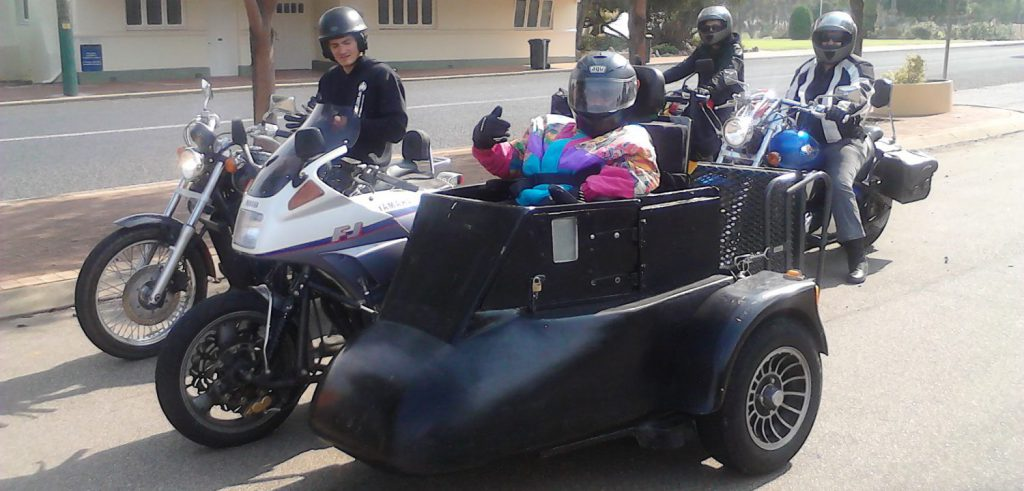 Wheelchair Accessible Sidecar