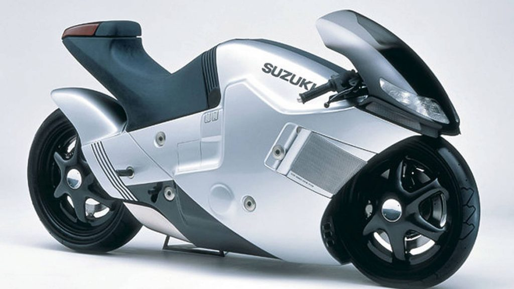 Suzuki Nuda concept All Wheel Drive Motorcycle