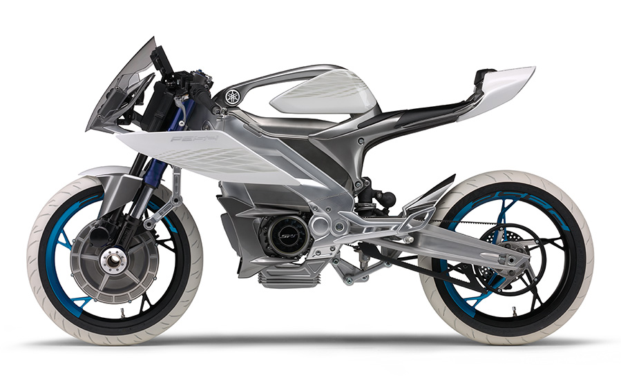 Yamaha PES2 Concept All Wheel Drive Motorcycle