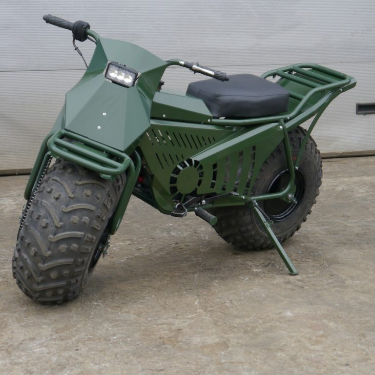 Tarus All Wheel Drive Motorcycle