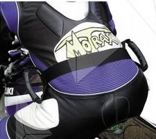 Motorcycle Pillion Safety Belt Grab Handles