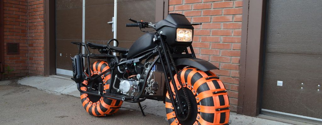 Vasugan Big Wheel Motorcycle
