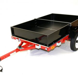 Folding Motorcycle Box Trailer