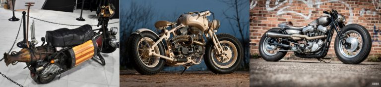 Motorcycle Steampunk