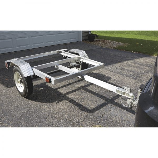 Ultra Tow Motorcycle Luggage Trailer