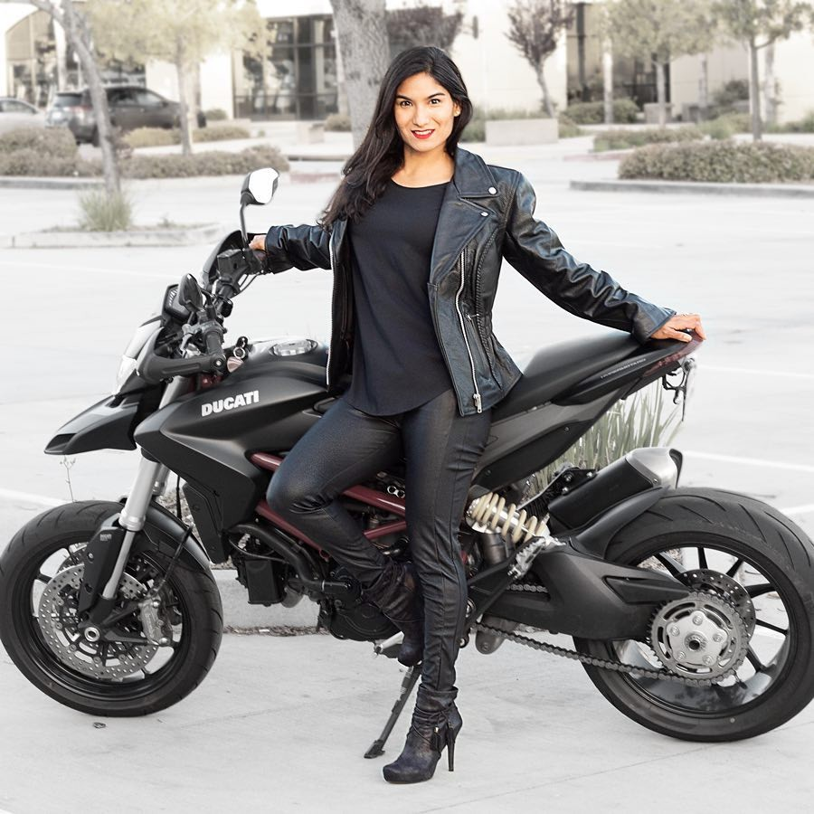 Cruise Women S Leather Motorcycle Jacket Haul N Ride