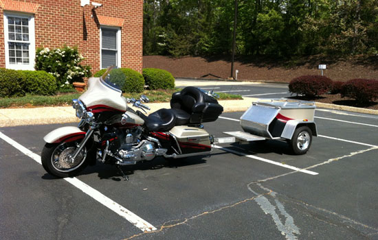 Purchase Motorcycle Cargo Trailer