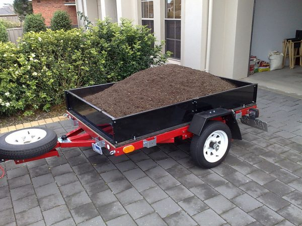 Foldable Motorcycle Trailer