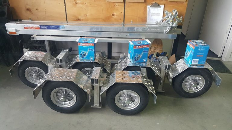 Folding Motorcycle Boat Trailer