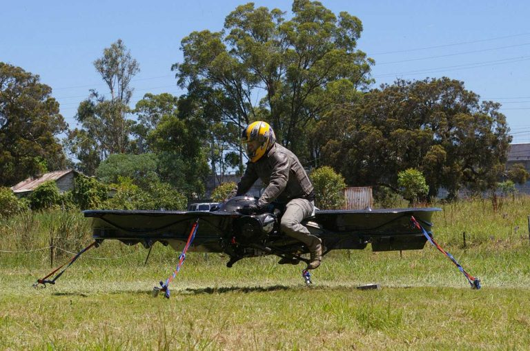 Malloy Hoverbike Manned Drone