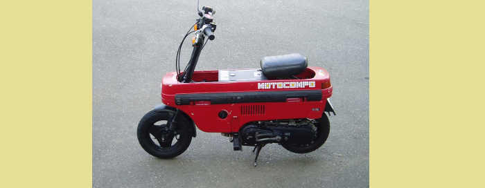 Honda Suitcase Motorcycle