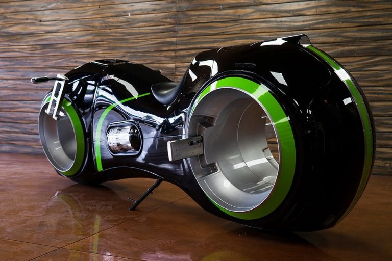 Neutron Parker Brothers Tron Motorcycle