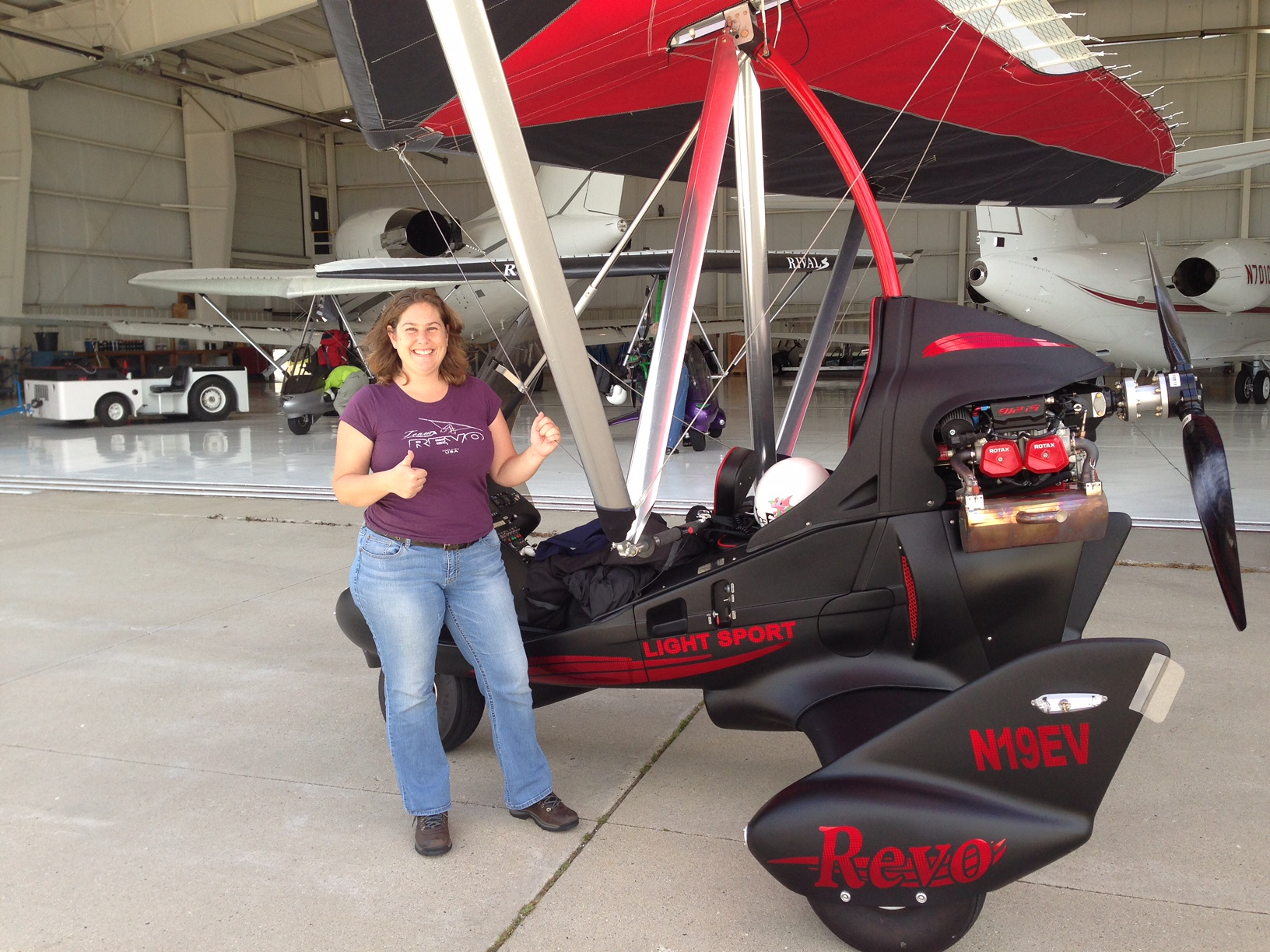 Rev, Revo and Revolt – 3 Ultralight Aircraft from Evolution
