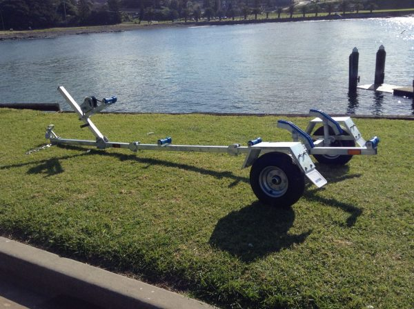 Motorcycle Kayak Canoe Boat Trailer