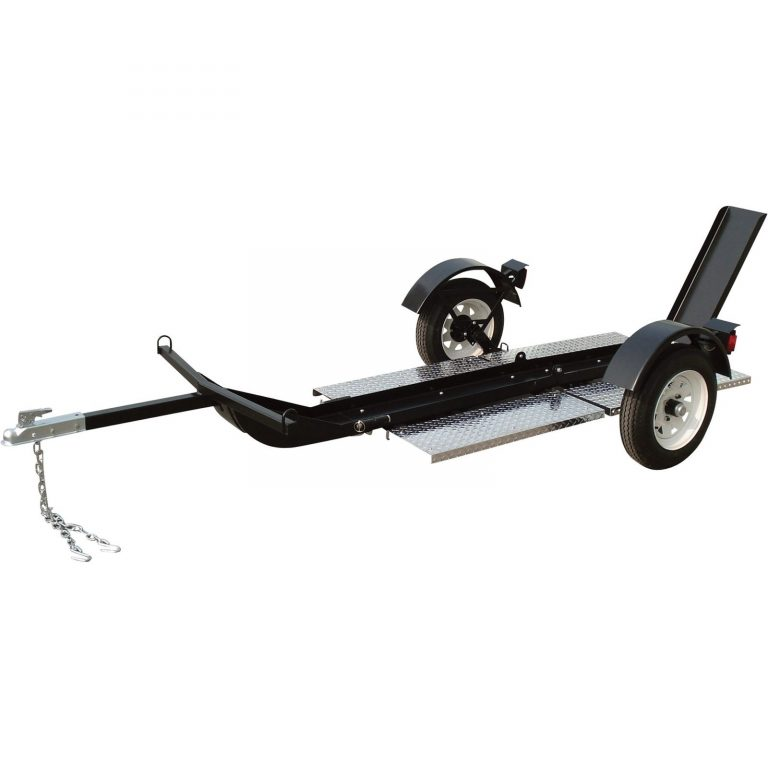 Ultra Tow Motorcycle Trailer