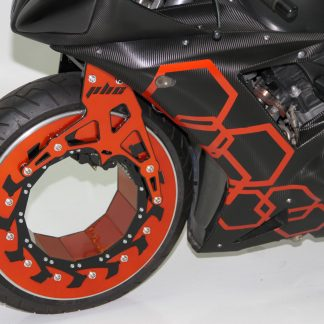 Vacio Motorcycle Hubless Wheel Kit