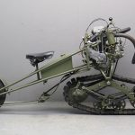 1937 Mercier Moto Chenille Track Driven Motorcycle