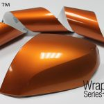 Motorcycle Gloss Liquid Copper Vinyl Wrap