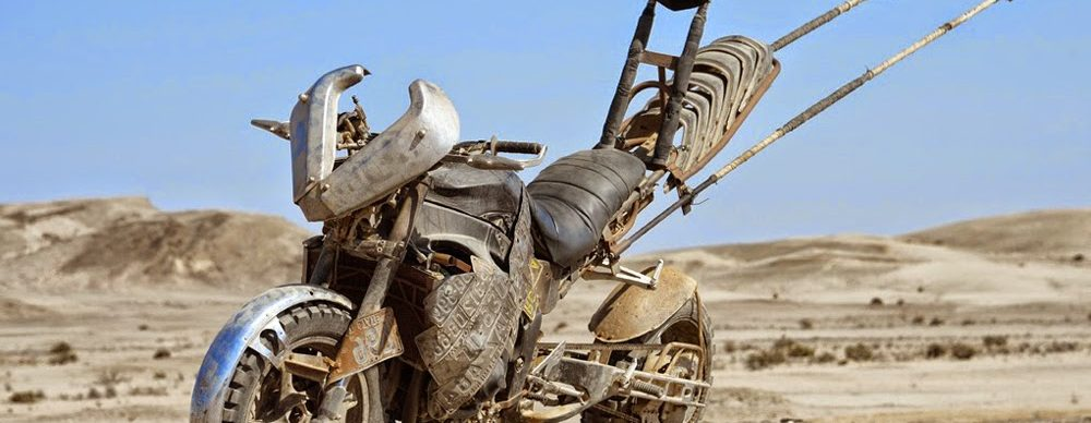 Mad Max Fury Motorcycle