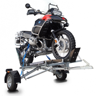 Bulldog Folding Motorcycle Trailer