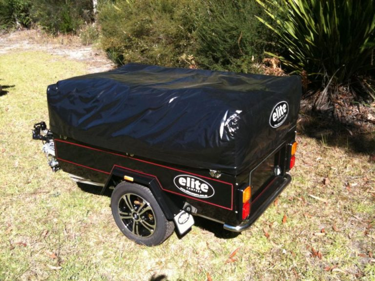 Elite Motorcycle Camper Trailer