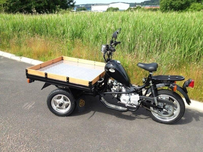 Lifan mgb delivery 50 Reverse Cargo Trike