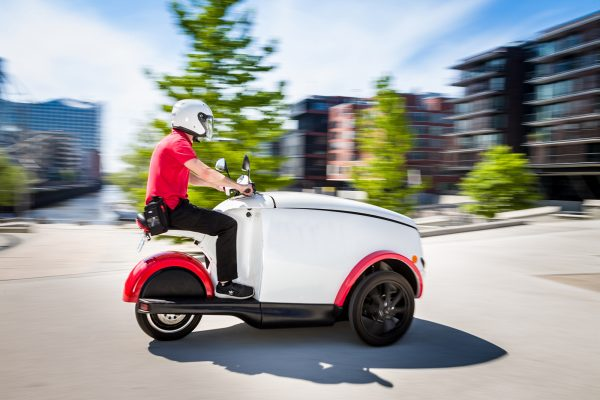 Tripl Electric Reverse Trike Scooter