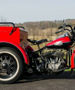 Rare 1940 Harley-Davidson Servicar Fully Resored As New