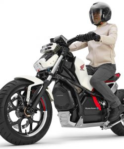 Honda riding assist concept motorcycle