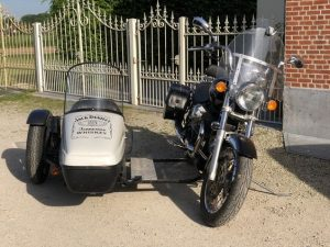 Motorcycle Leaner Flexible Parallel Sidecars - Homemade Projects