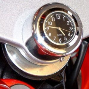 Motorcycle Stem Nut Clock