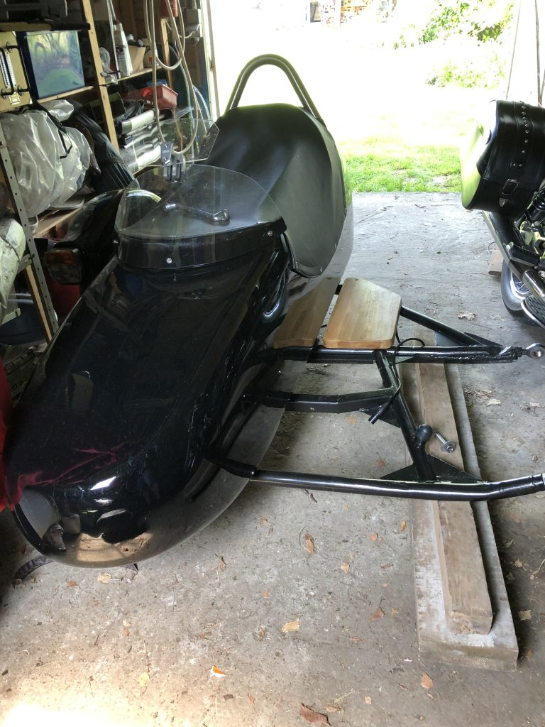 Motorcycle Leaner Sidecar Pivots