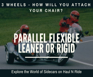 Parallel Flexible Leaner and Rigid Motorcycle Sidecars