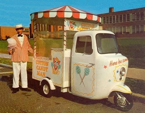 1969 Cushman Ice Cream Truckster