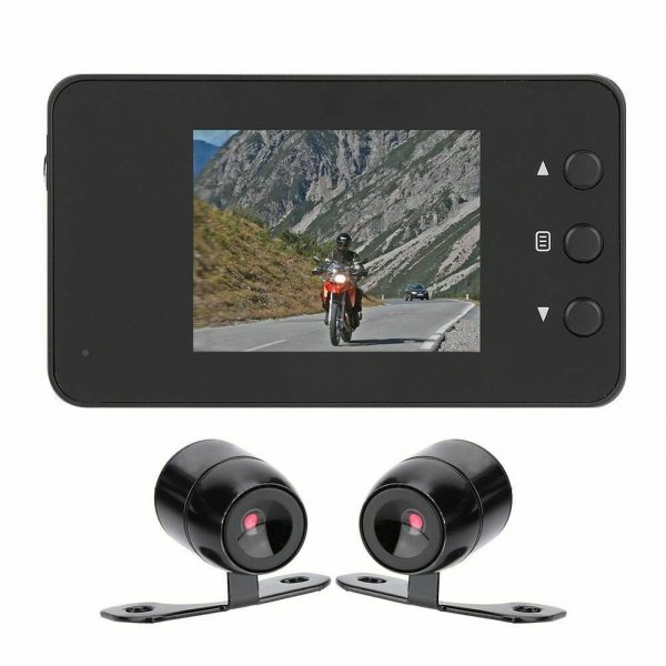 Motorcycle Dual Camera and Screen