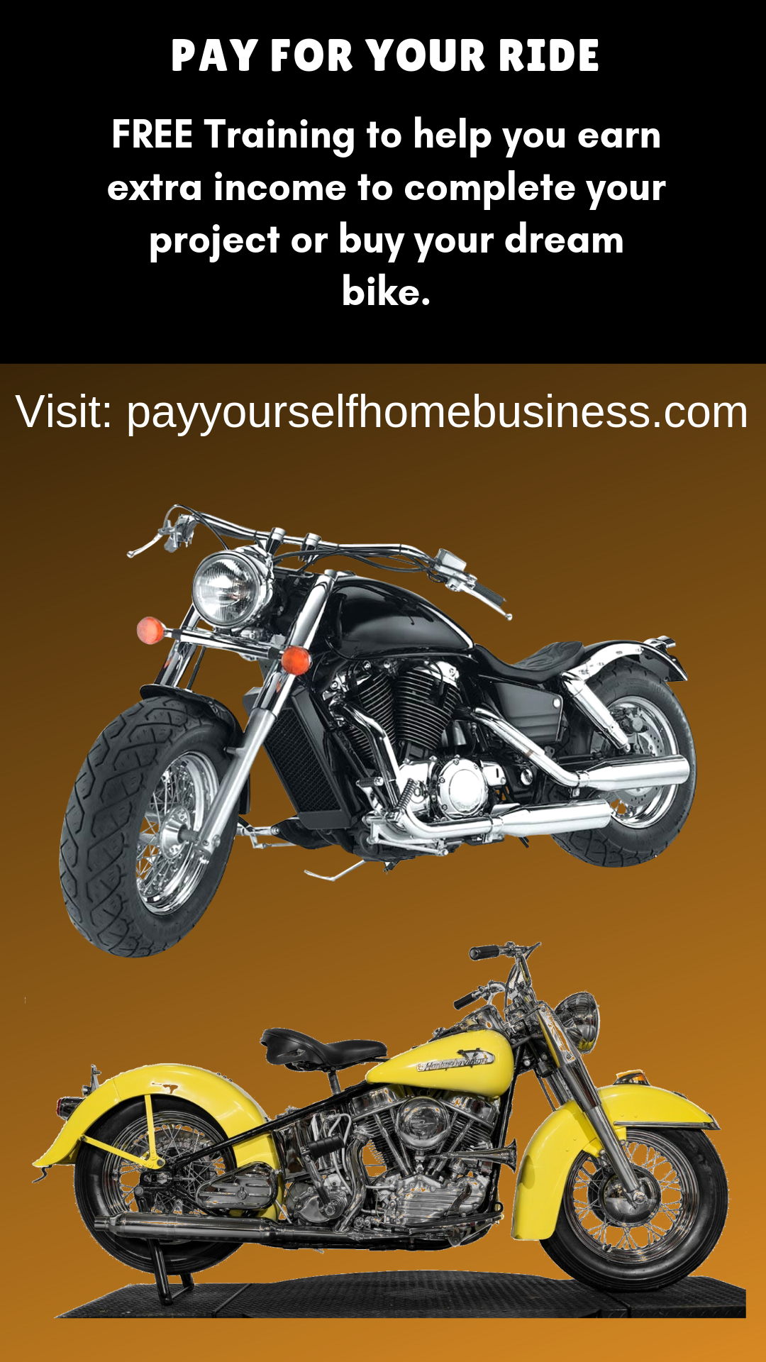 Earn Income to Buy Your Motorcycle