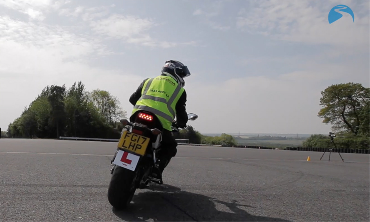 Motorcycle Safety Look Over Shoulder