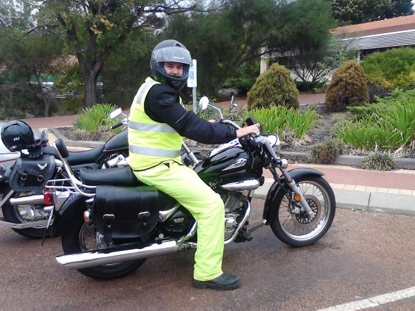 Motorcycle Instruction Protective Clothing