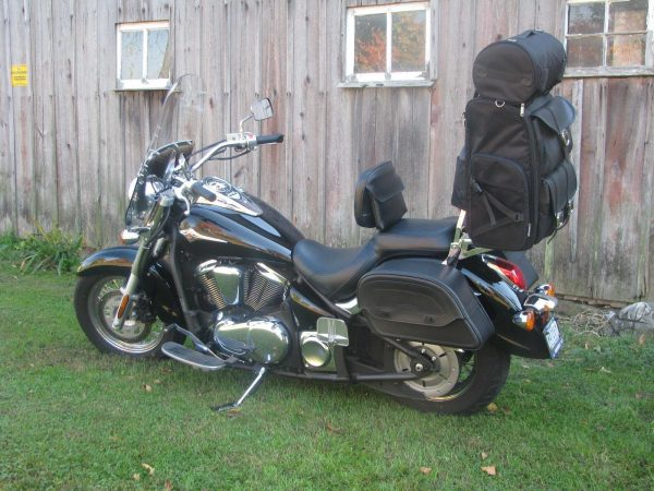 Viking Plain Extra Large Sissy Bar Bag