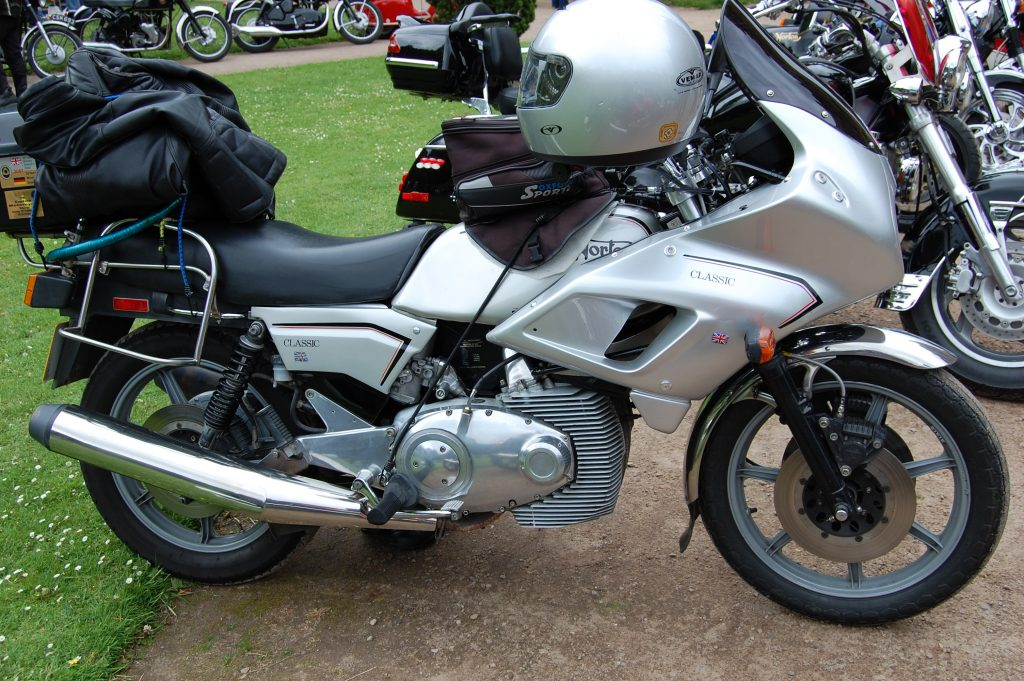 Norton Classic Wankel Rotary Twin Motorcycle