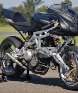 Haul N Ride Innovative Motorcycles & Accessories Triangulated Suspension