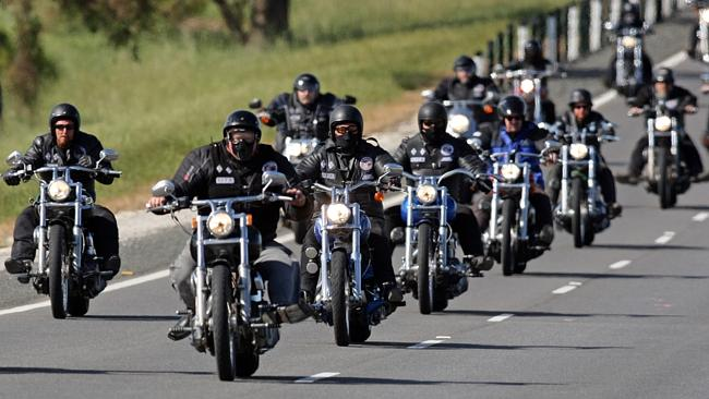 Group Motorcycle Riders
